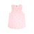 Mermaid Print Tank, Powder Pink | Women
