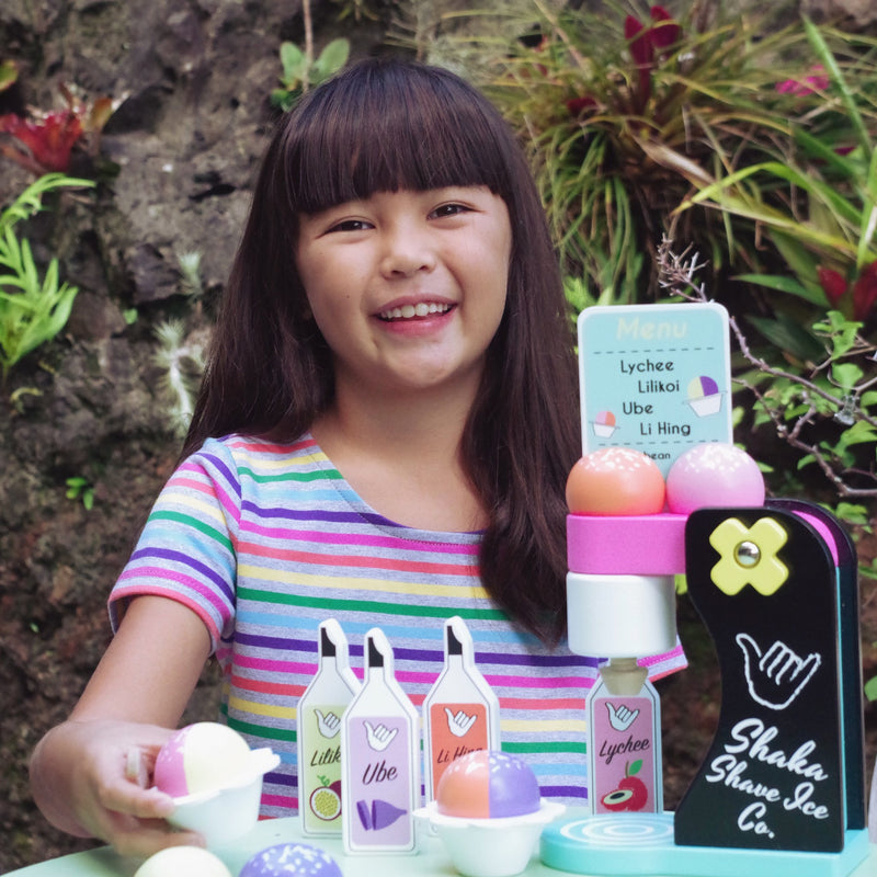 Shaka Shave Ice Wooden Play Set