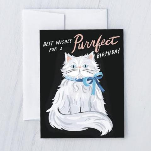Idlewild Co: Purrfect Persian Birthday Card