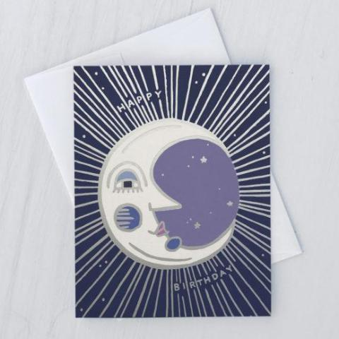 Idlewild Co: Moon Birthday Card