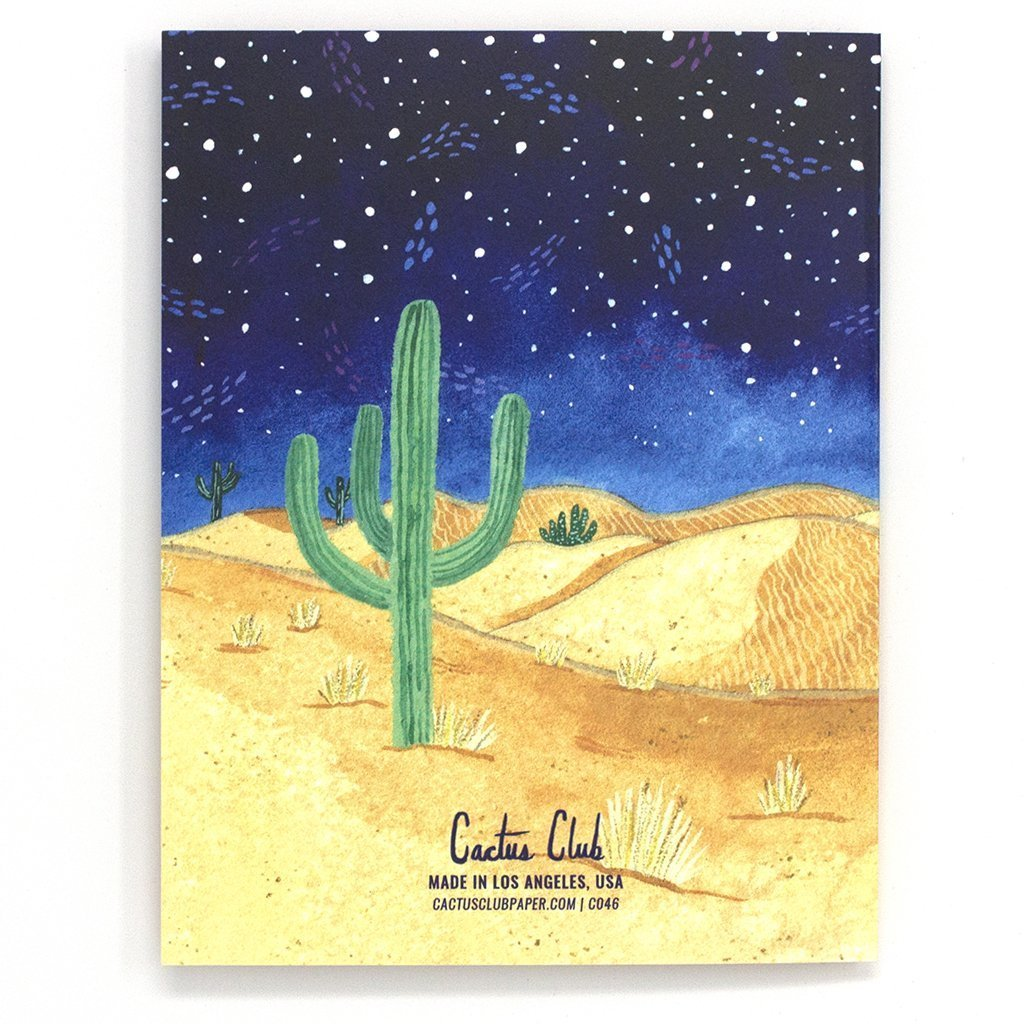 Cactus Club: Birthday Coyote Card