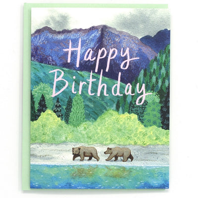 Cactus Club: Birthday Bears Card