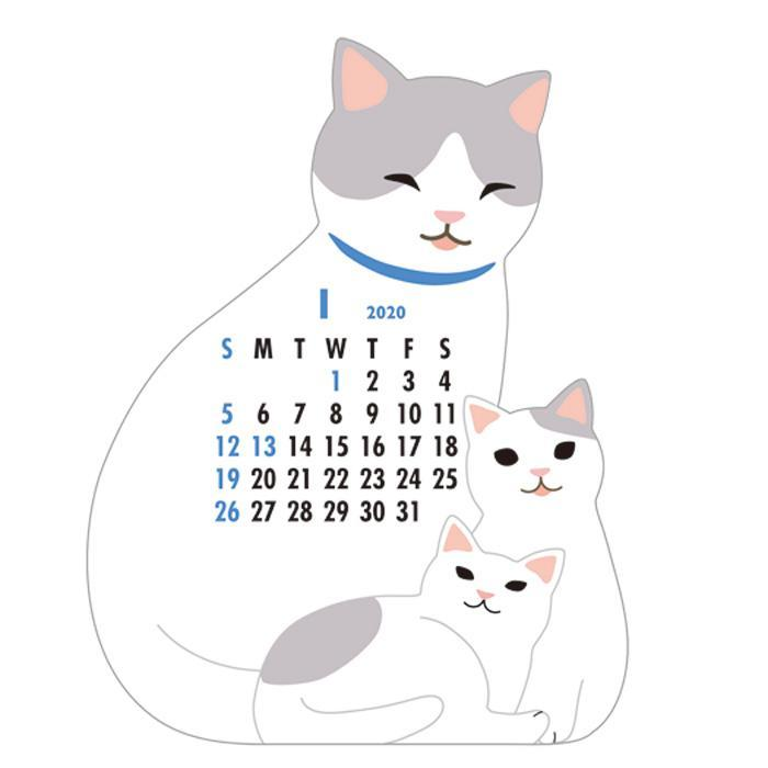Greeting Life America: Mini Calendar, Cats