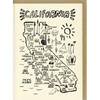 People I've Loved: California Map Card