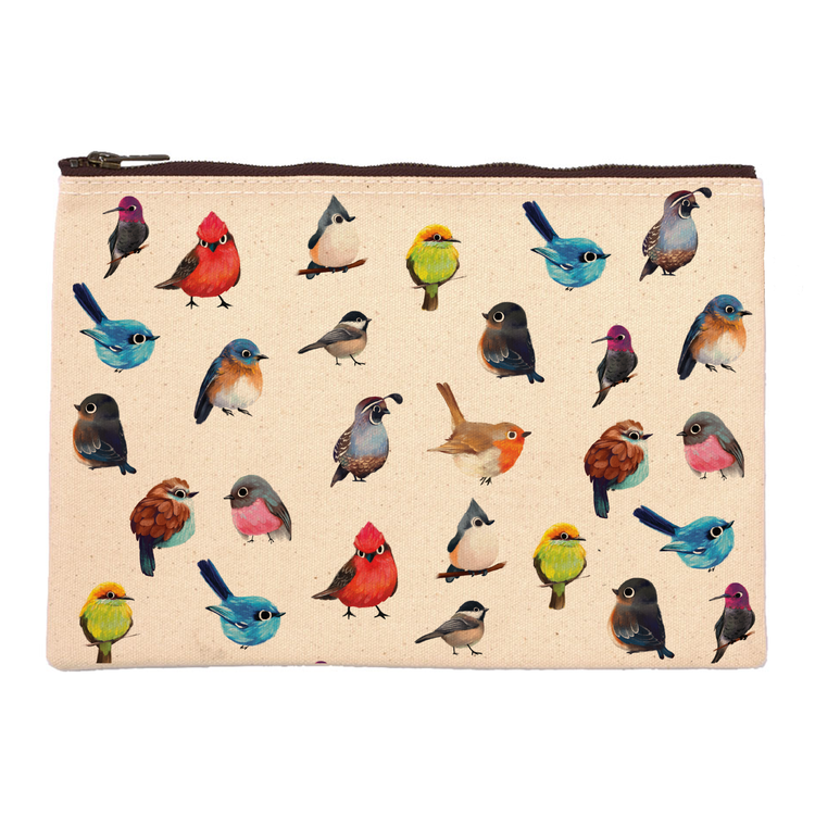 The Little Red House: Birdies Pouch