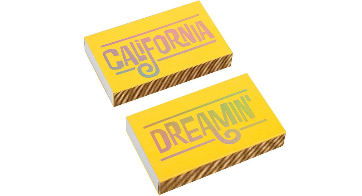 The Social Type: California Dreamin', Matchbox