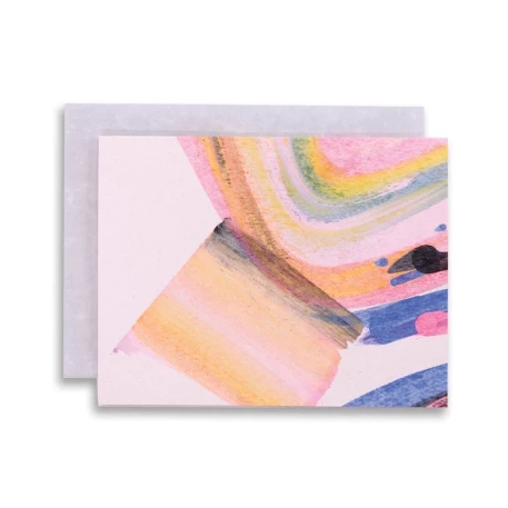 Moglea: Rainbow Swirl Card Set (Box of 6)