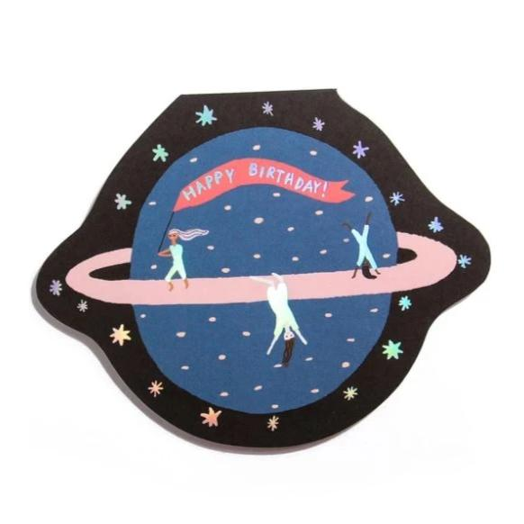 Carolyn Suzuki Goods: Planet Fun Card