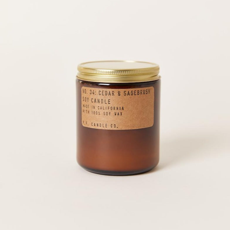 P.F. Candle Co.: Cedar & Sagebrush, Standard