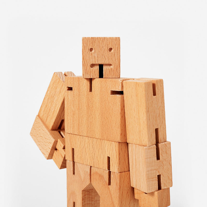 Areaware: Cubebot® Beech, Micro