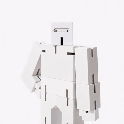 Areaware: Cubebot® White, Micro