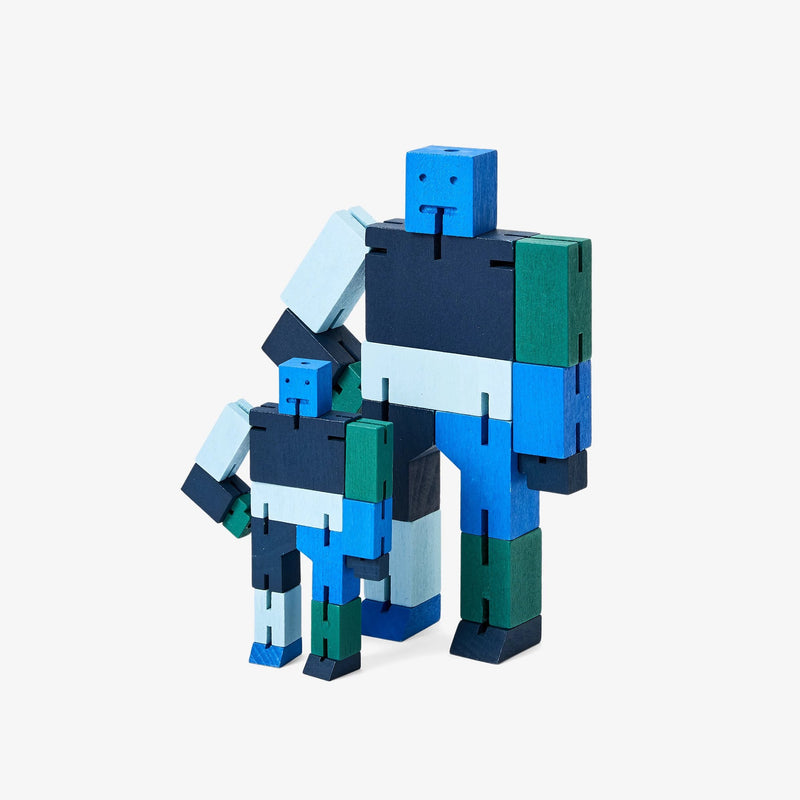 Areaware: Cubebot® Capsule Collection Blue Multi, Micro