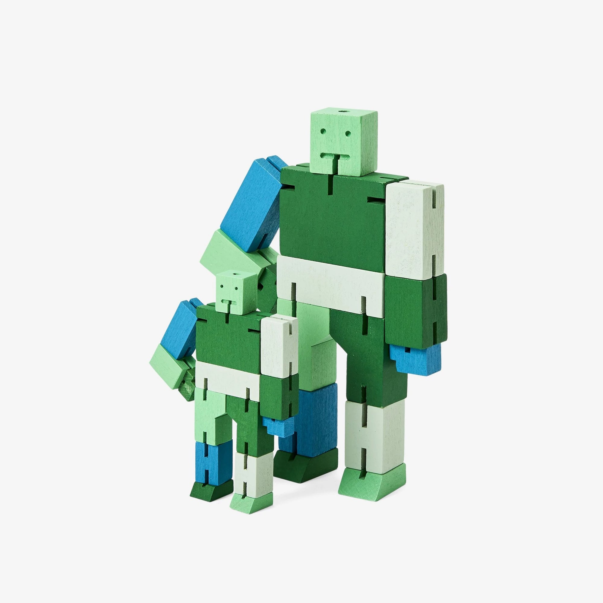 Areaware: Cubebot® Capsule Collection Green Multi, Small