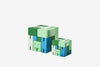 Areaware: Cubebot® Capsule Collection Green Multi, Micro