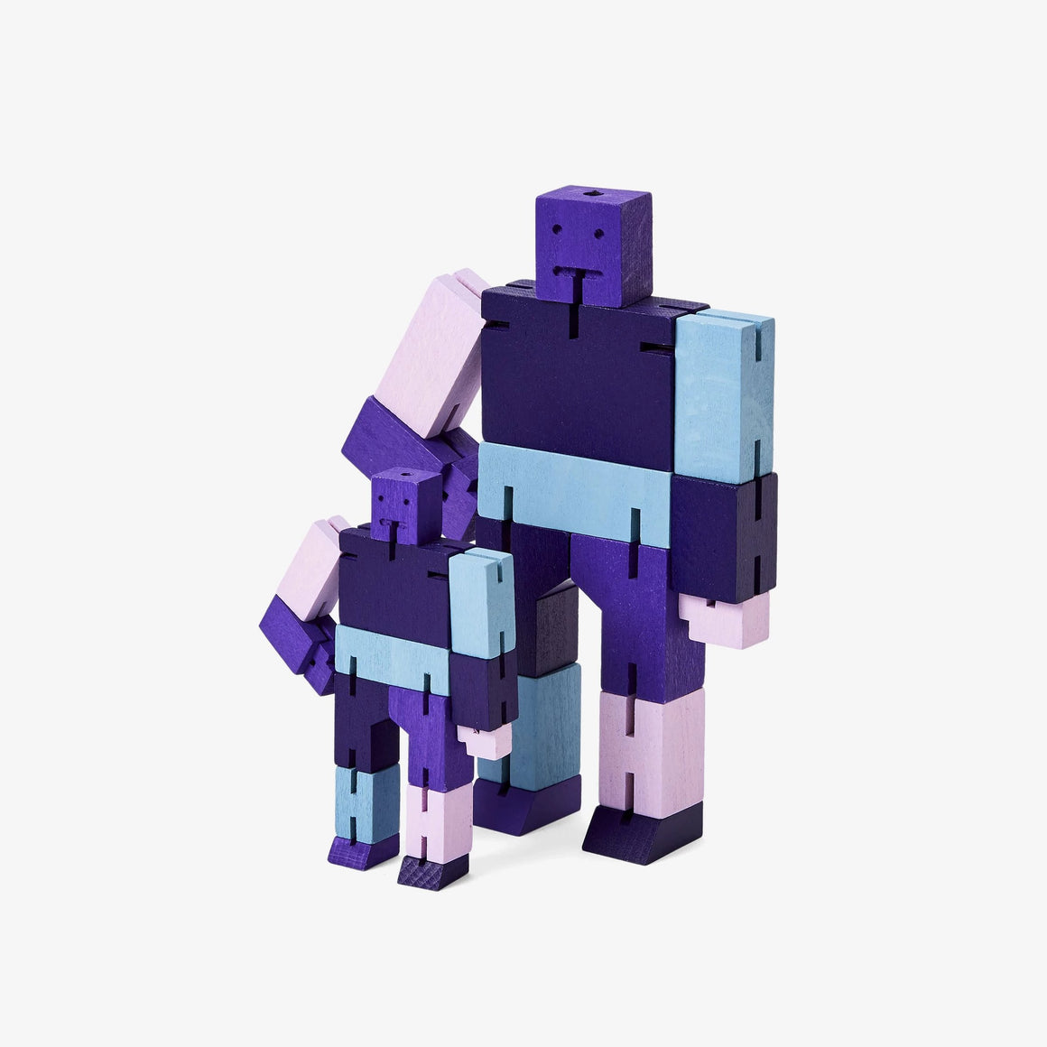 Areaware: Cubebot® Capsule Collection Purple Multi, Micro