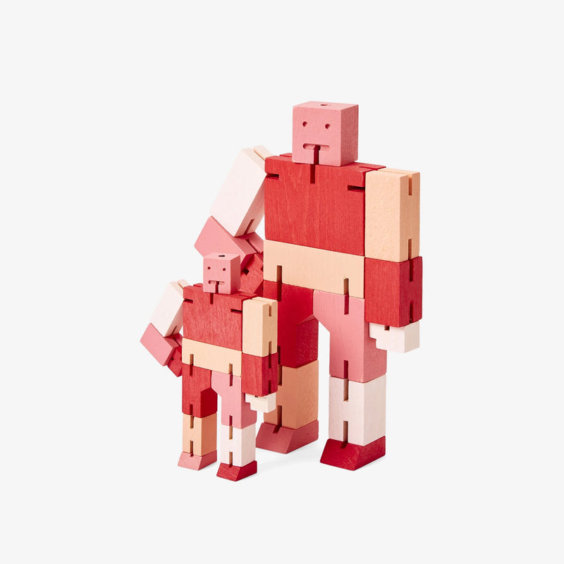 Areaware: Cubebot® Capsule Collection Red Multi, Micro