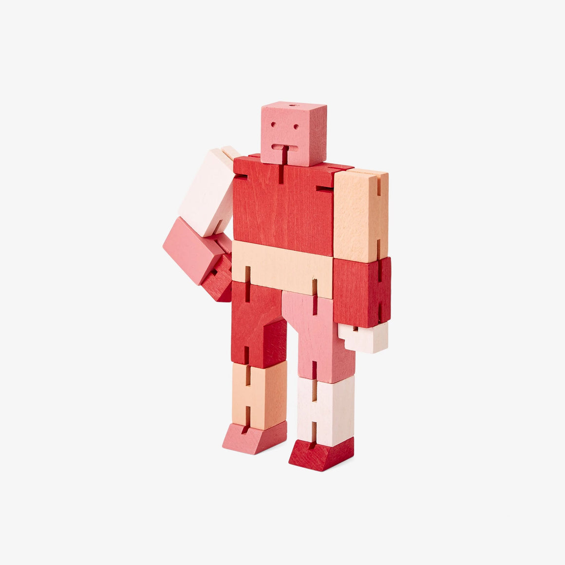 Areaware: Cubebot® Capsule Collection Red Multi, Small
