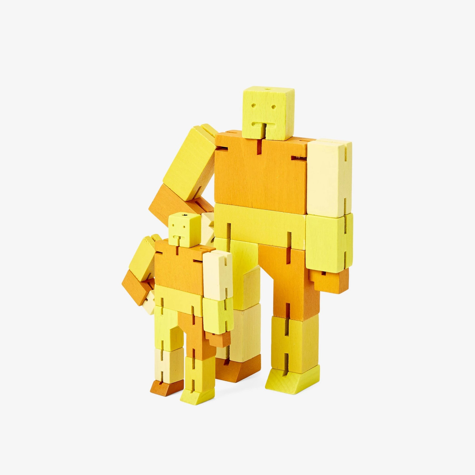 Areaware: Cubebot® Capsule Collection Yellow Multi, Small