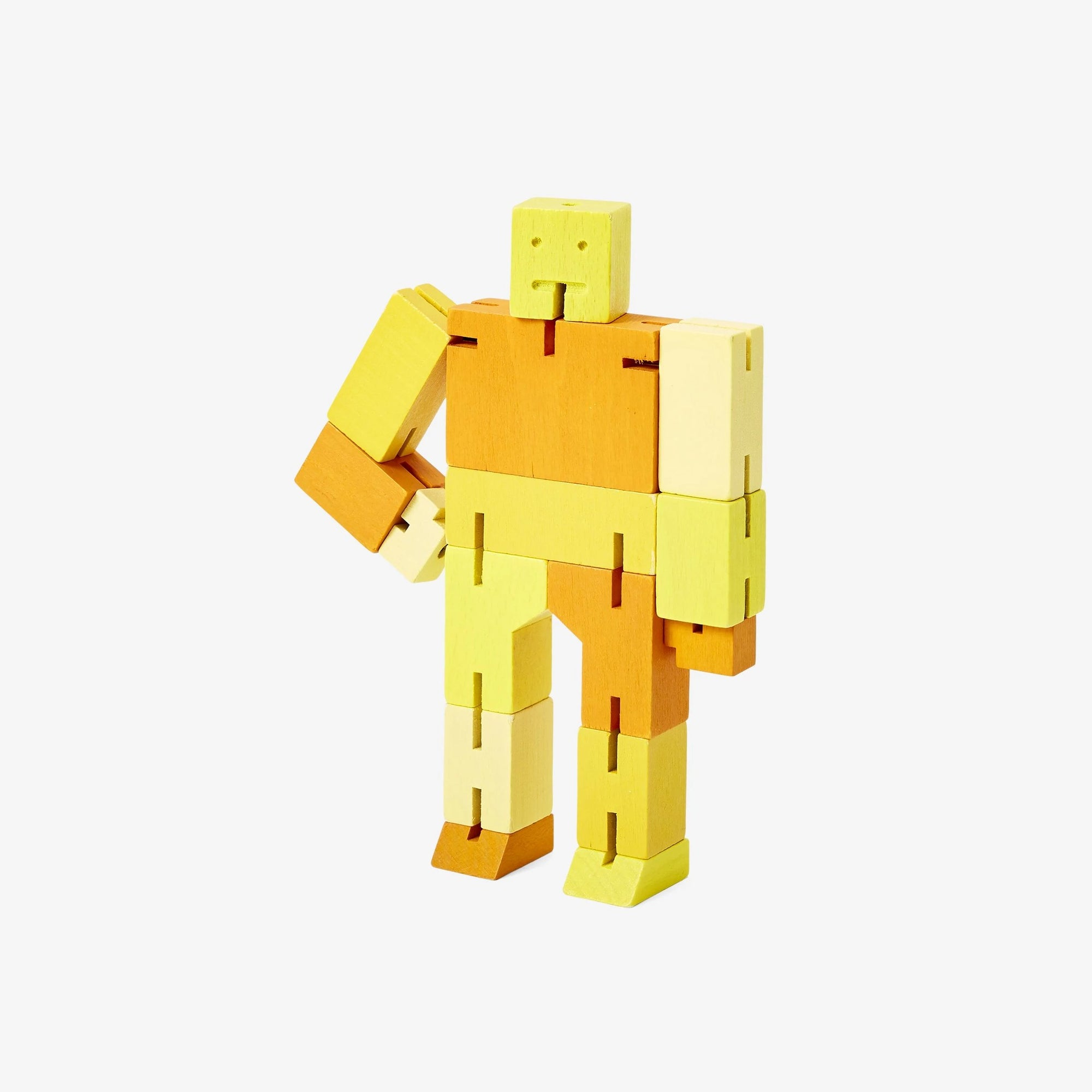 Areaware: Cubebot® Capsule Collection Yellow Multi, Micro