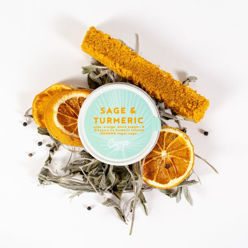 Camp Craft Cocktails: 16 oz Sage & Turmeric