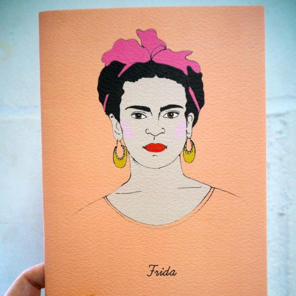 Rosie Wonders: Frida Notebook, A6