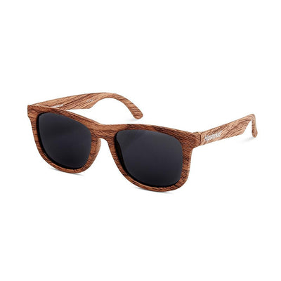FCTRY: Polarized Baby Sunglasses, Golds - Wood Finish