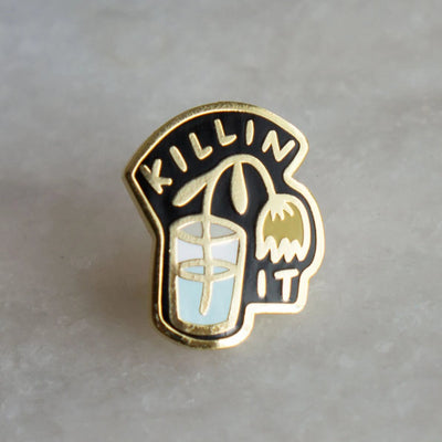 Stay Home Club: Killin' It Lapel Pin