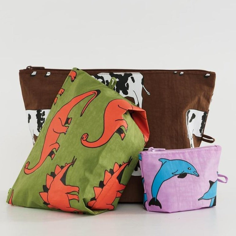 Baggu: Go Pouch Set - Animal Friends