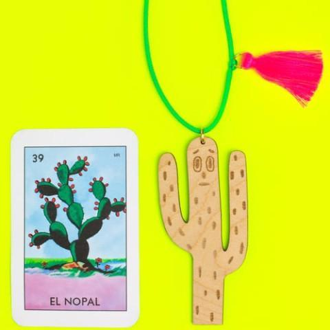 "Little Lux: ""Cactus Ghost"" Limited Edition Collaboration with Little Lux + A Small Object"