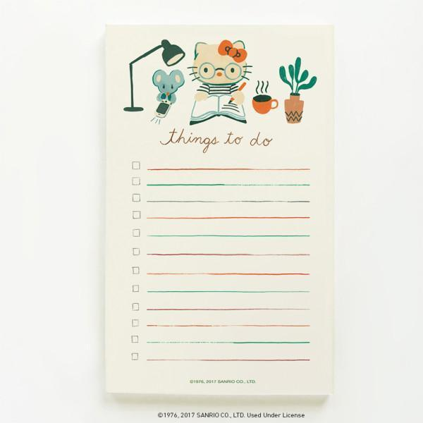 Quill & Fox: Hello Kitty List Pad
