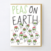 Hello Lucky: Peas on Earth Card