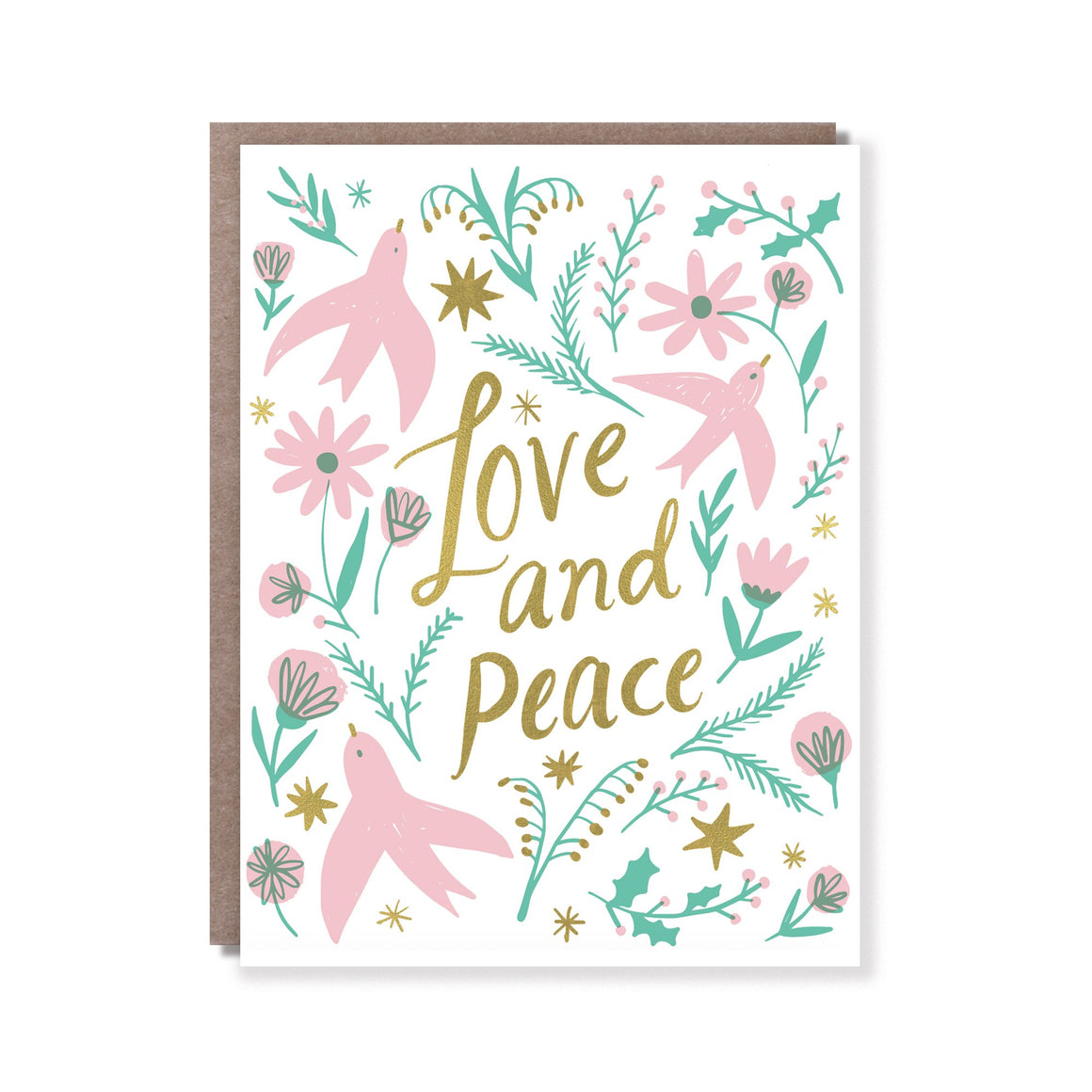Hello Lucky: Love and Peace Card
