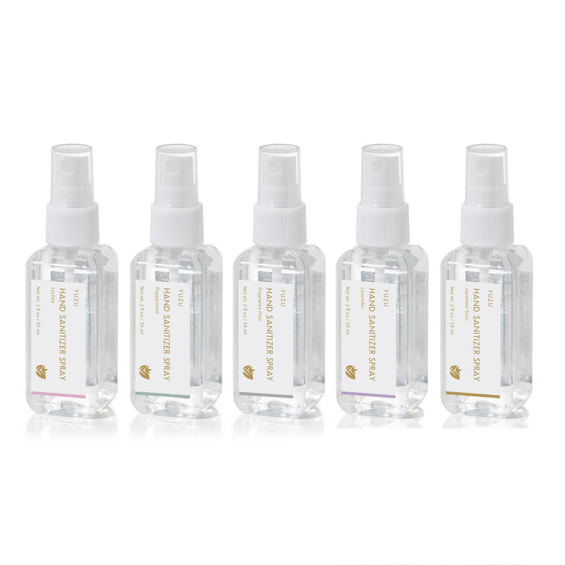Yuzu Soap: Peppermint Hand Sanitizer Spray (2oz)