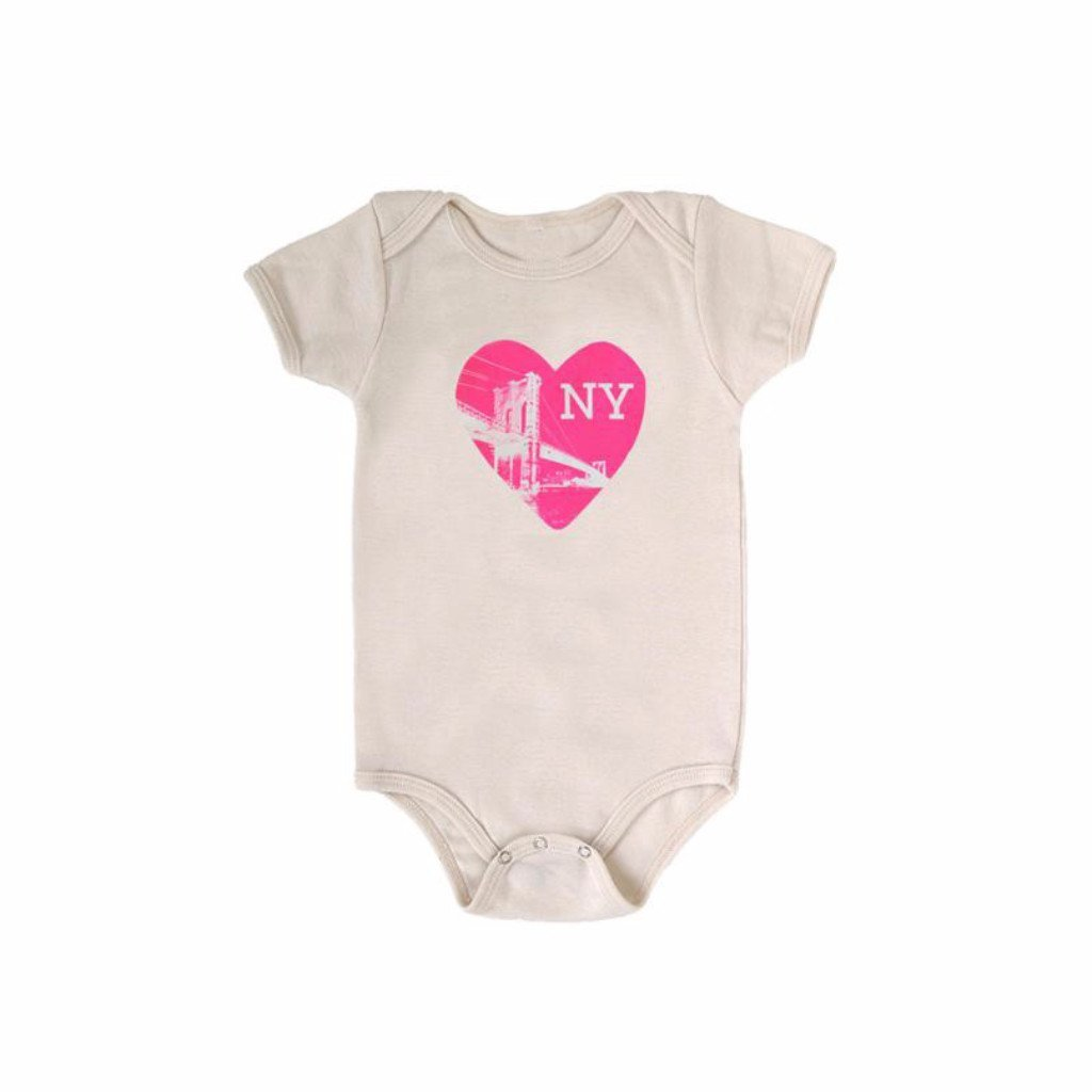 Heart NY One-piece, Natural