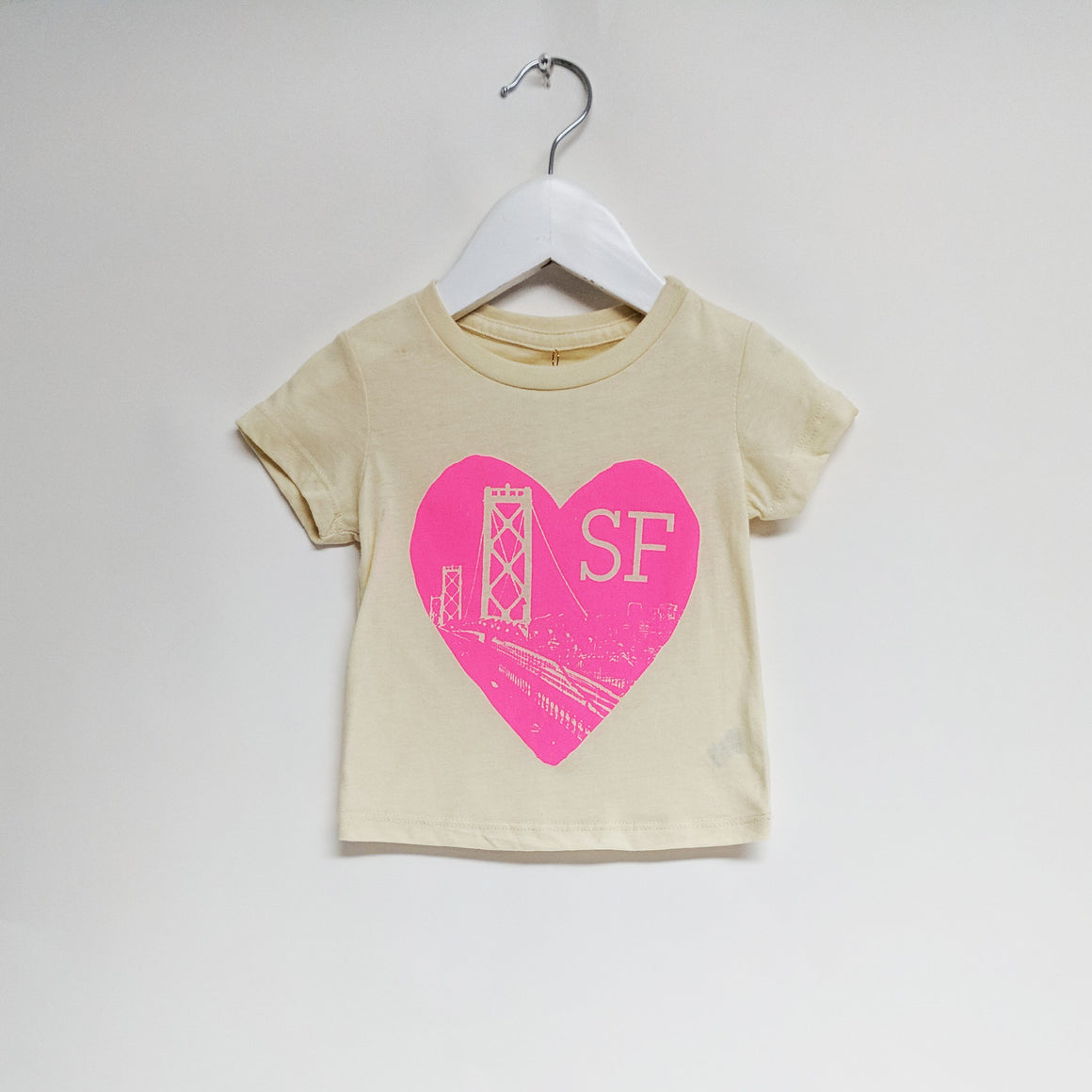 Heart SF Tee, Natural