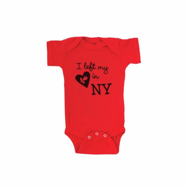 Left My Binkie in NY One-piece, Red