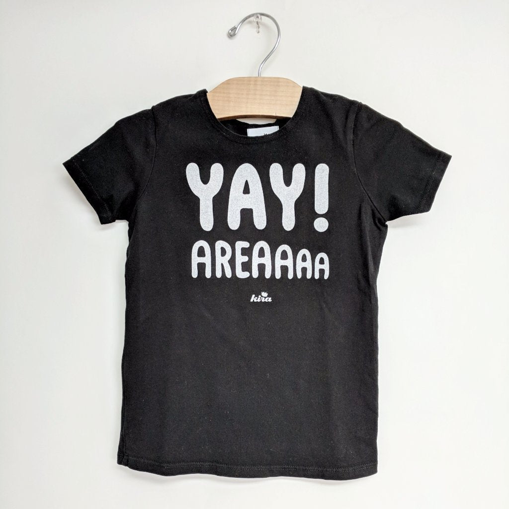 Yay Area Graphic T-shirt, Black