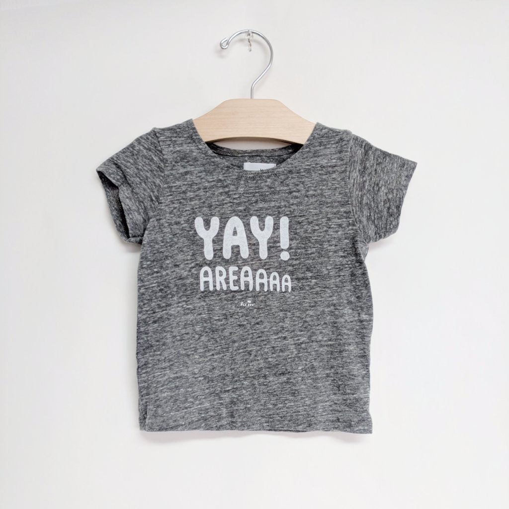 Yay Area Graphic T-shirt, Heather Grey