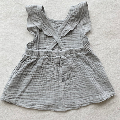 Miffy Palm Trees Pinafore, Light Grey