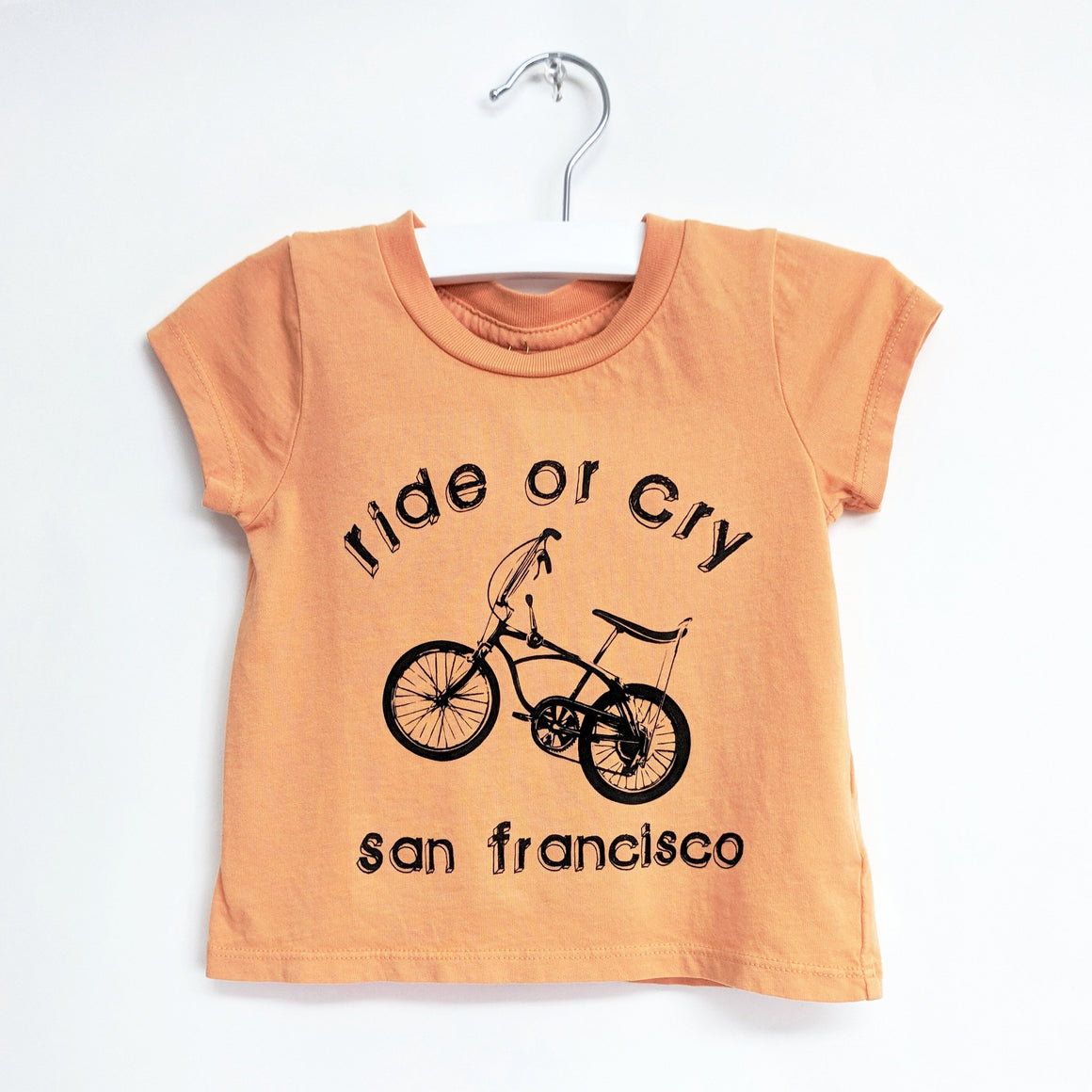 Ride or Cry SF T-shirt, Melon