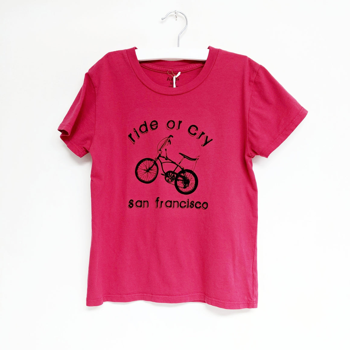 Ride or Cry SF T-shirt, Red