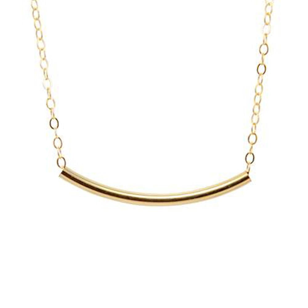 Thesis of Alexandria: Curve Tube Necklace