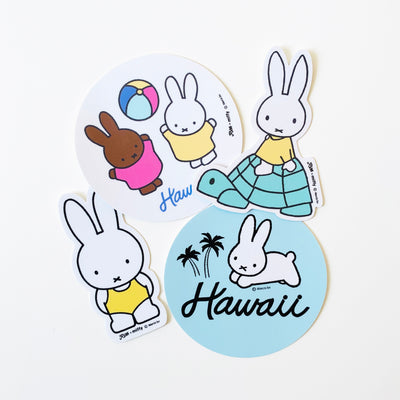 Miffy Palm Tree Hawaii Sticker