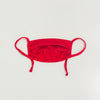 Kid Cotton Adjustable Mask, Ruby Red