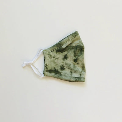 Adult Mask, Olive Tie Dye