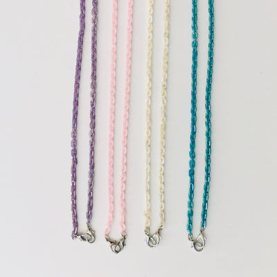 Iridescent Link Mask Chain