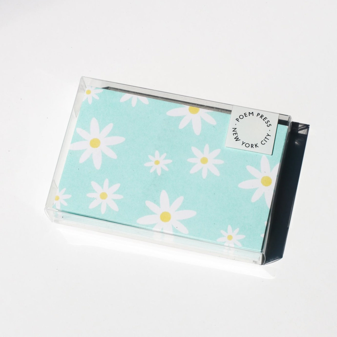 Poem Press: Mint Daisy Envelope Boxed Set of 12