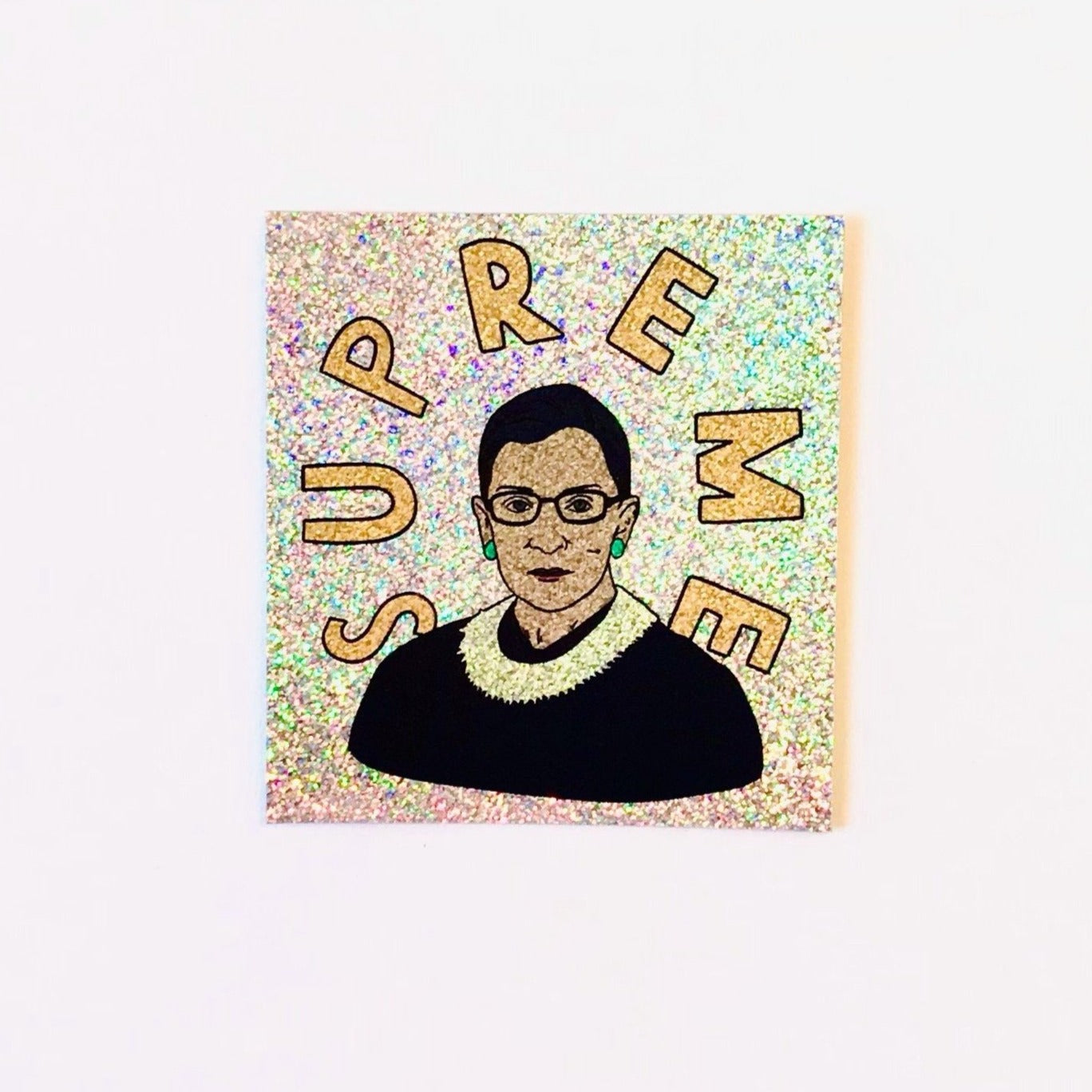 RBG Supreme Glitter Sticker