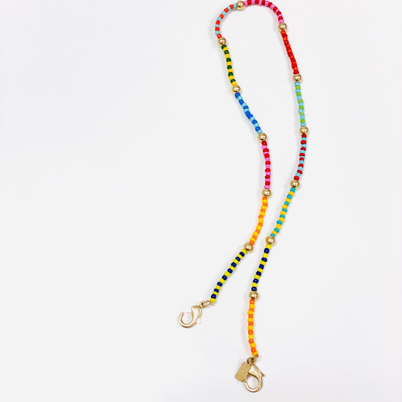 Moroccan Bead Mask Chain