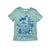 Golden Gate Park Graphic T-shirt, Celadon